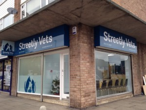 Exterior photo of Streetly Vets